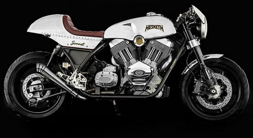Hesketh Sonnet Cafe Racer Comes This Summer