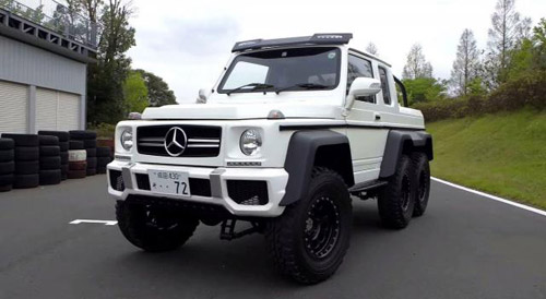 """Mercedes-AMG G63 6×6"" Which Costs Only $9,000"