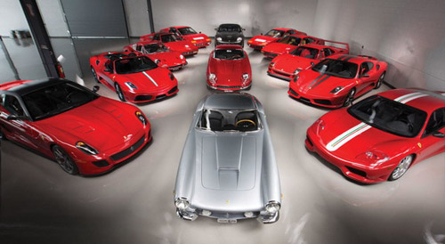 Collection Of Ferrari Cars Worth $18 Million On Sale