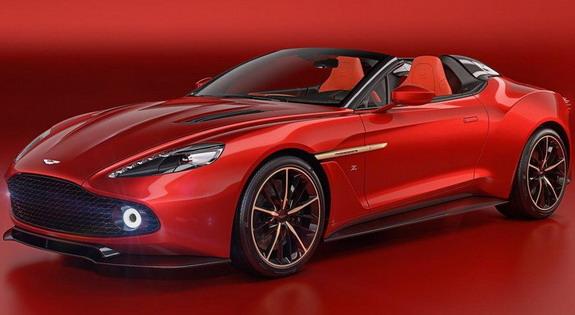 Aston Martin Expanded Vanquish Zagato Family
