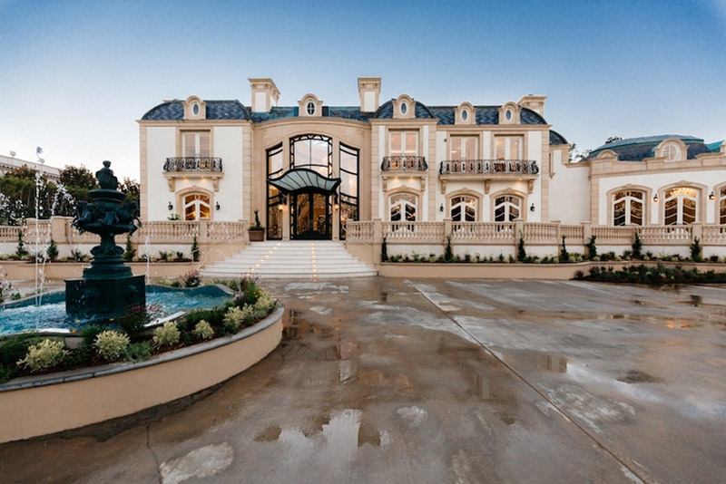 Mega Mansion In The Heart Of Beverly Hills Re Lists For