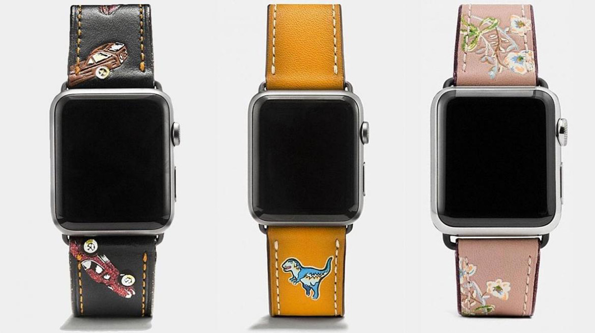 Coach Debuts New Apple Watch Straps Extravaganzi