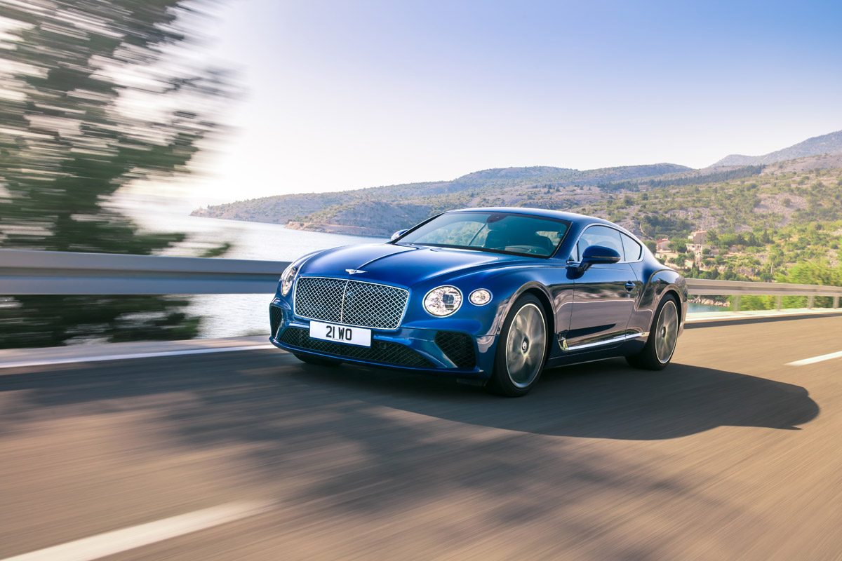 All-New Bentley Continental GT Definitive Grand Tourer
