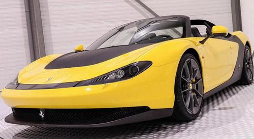 Ferrari Sergio On Sale For €4,3 Million