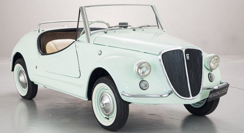 Fiat 500 Gamine By Vignale On Sale