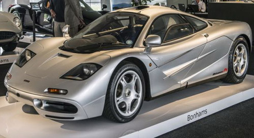 First McLaren F1 In US Sold For $15 Million