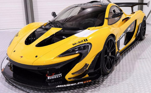 mclaren p1 gtr racing toy worth nearly three million euros. Black Bedroom Furniture Sets. Home Design Ideas