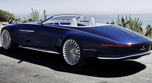 mercedes maybach 6 cabriolet concept extravaganzi. Black Bedroom Furniture Sets. Home Design Ideas
