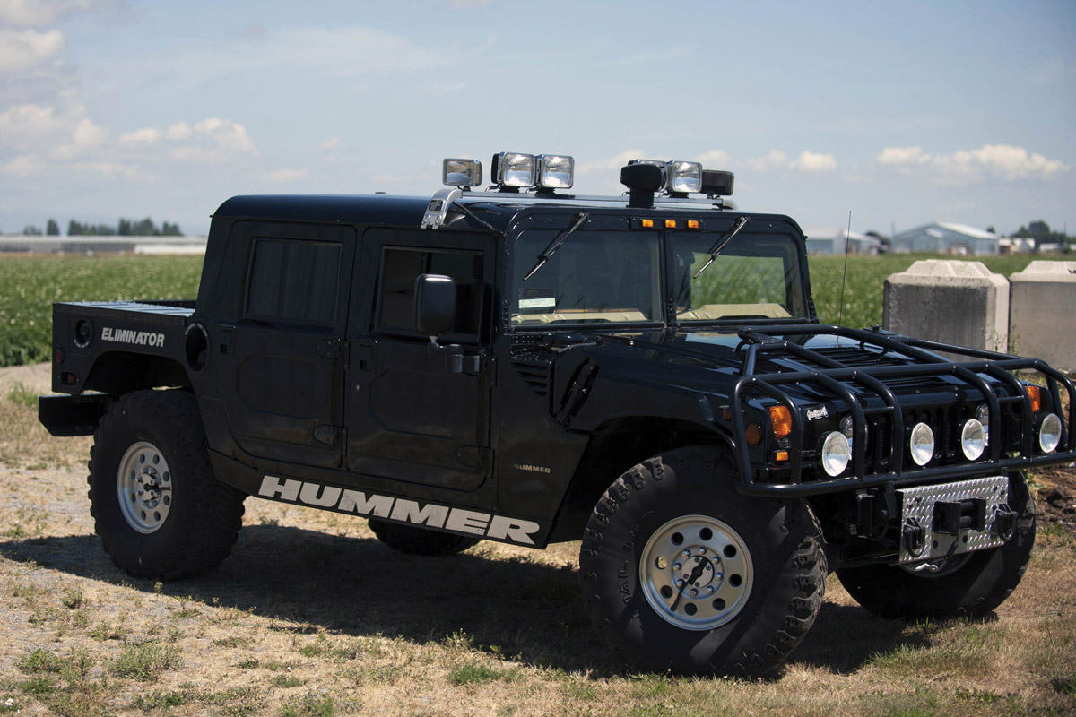 Tupac Shakur's Hummer Is Back On The Auction Block