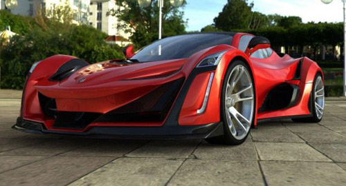 Anibal Icon – Canadian Supercar With 920 HP