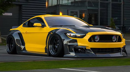 Clinched S550 Mustang