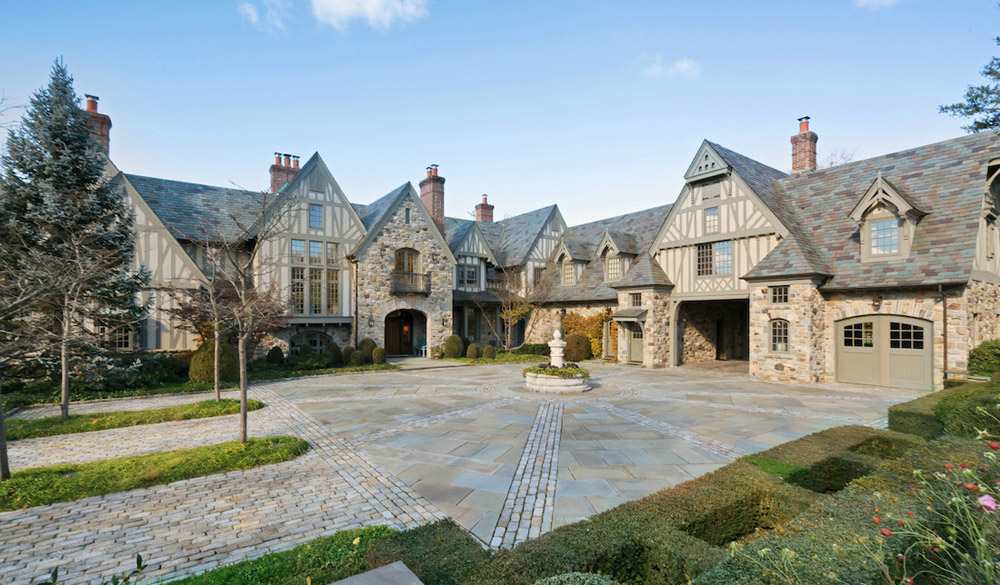 European inspired english tudor manor in kings point ny for European mansions for sale