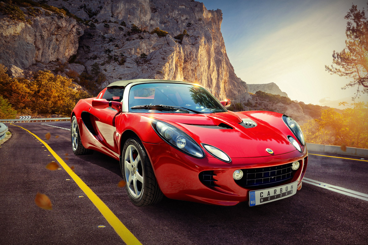 Lotus Elise by Carbon Motors