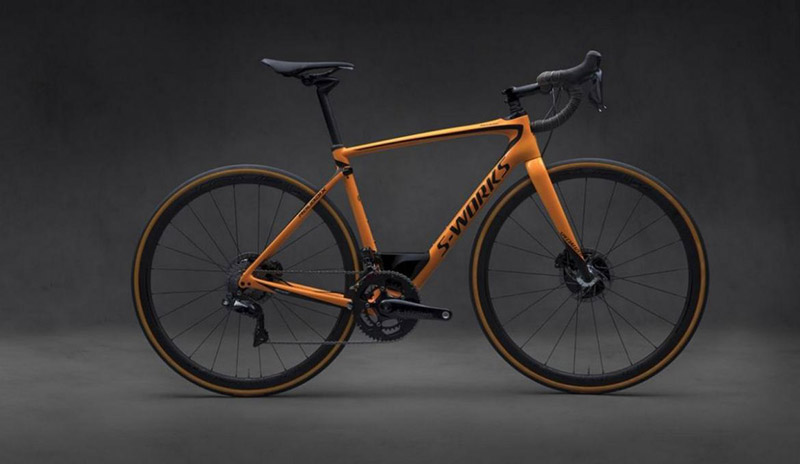 S-Works Roubaix Bicycle by McLaren And Specialized