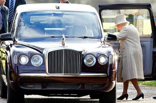 Take A Royal Ride In Queen Elizabeth's Bentley