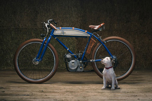 Unique And Cute Ducati Cucciolo