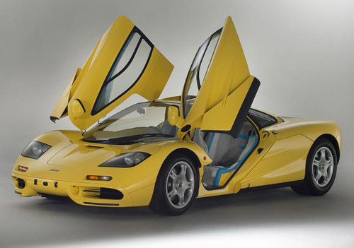 McLaren F1 With Only 239 km On Sale