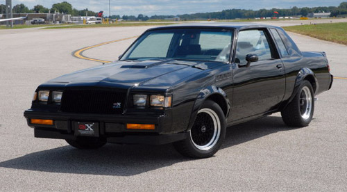 One Of The First Buick GNX Models Goes Under The Hammer