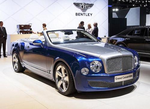 Bentley Grand Convertible: $3,5 Million Convertible?