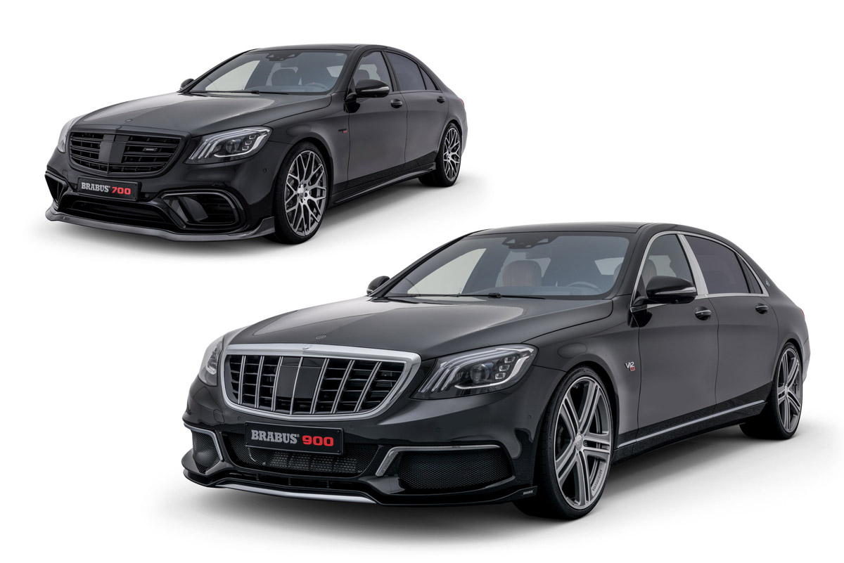 New Mercedes S 63 4MATIC And Mercedes-Maybach S 650 Received BRABUS Treatment