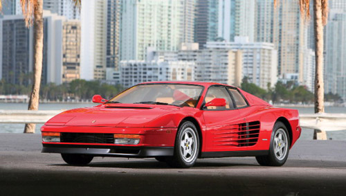 Perfect Ferrari Testarossa