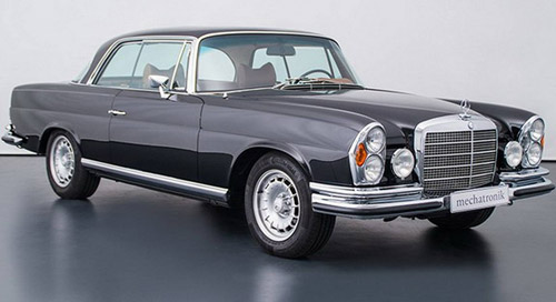Mercedes W111 With AMG V8 Engine