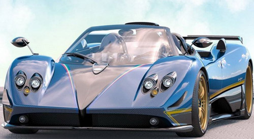 Pagani Zonda For A Buyer From Moscow