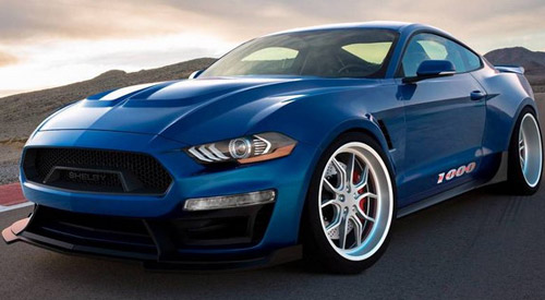 Shelby 1000 Is Track-Only Mustang