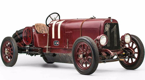 The Oldest Surviving Alfa Romeo At Auction In Phoenix