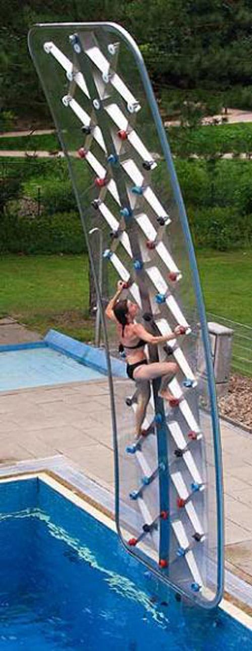 Aquaclimb Rock Climbing Wall For Swimming Pool