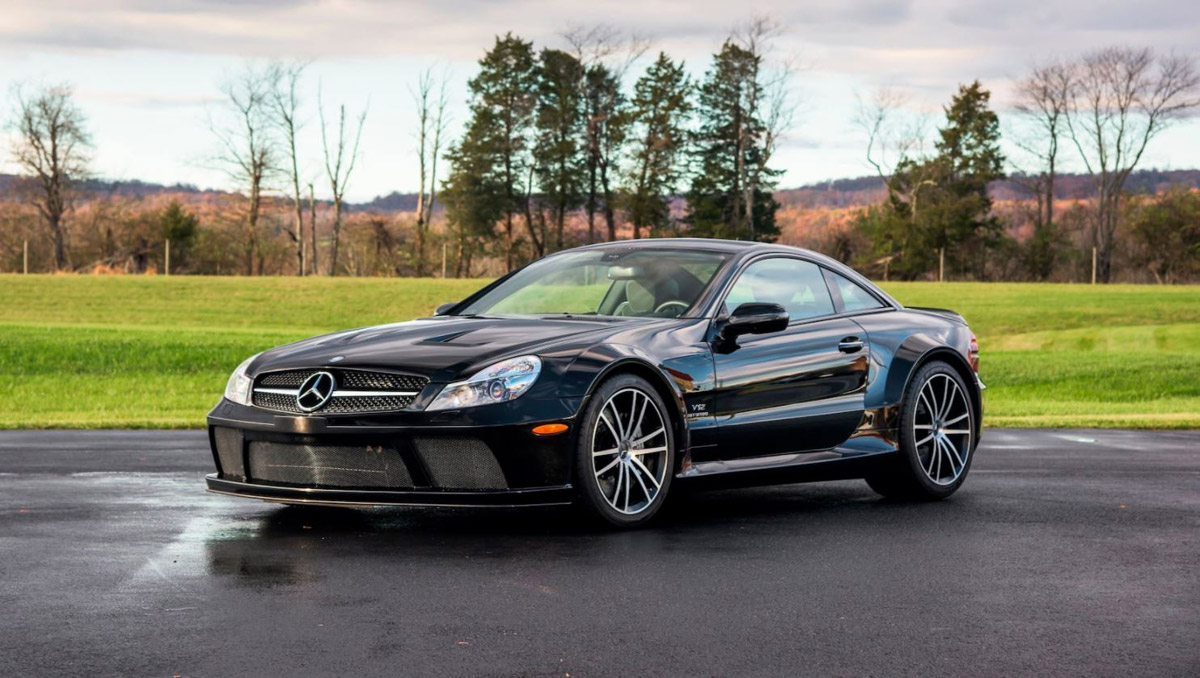 Mercedes benz amg black series collection on sale for Mercedes benz sl65 amg black series for sale