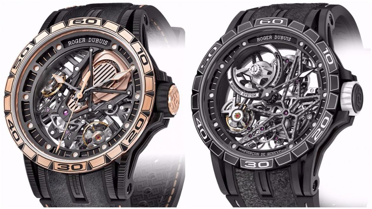 Roger Dubuis' New Pirelli and Lamborghini Limited Editions Watches