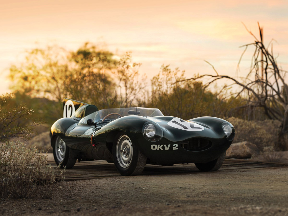1954 Jaguar D-Type Works OKV 2 Soon To Be Auctioned