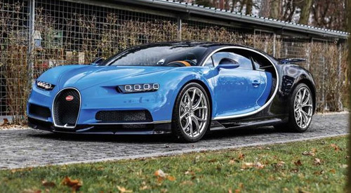 First Bugatti Chiron Is Waiting For A New Owner, Price Higher Than €3 Million