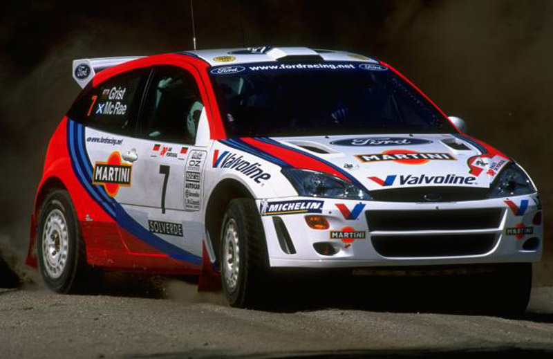 Colin McRae's Ford Focus WRC To Be Auctioned