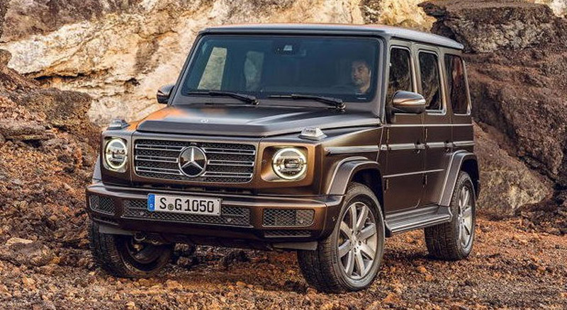New Mercedes G Class Now Officially