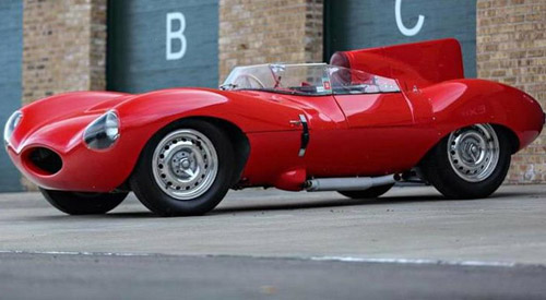 Ecclestone's Jaguar D-Type Could Fetch $12 Million