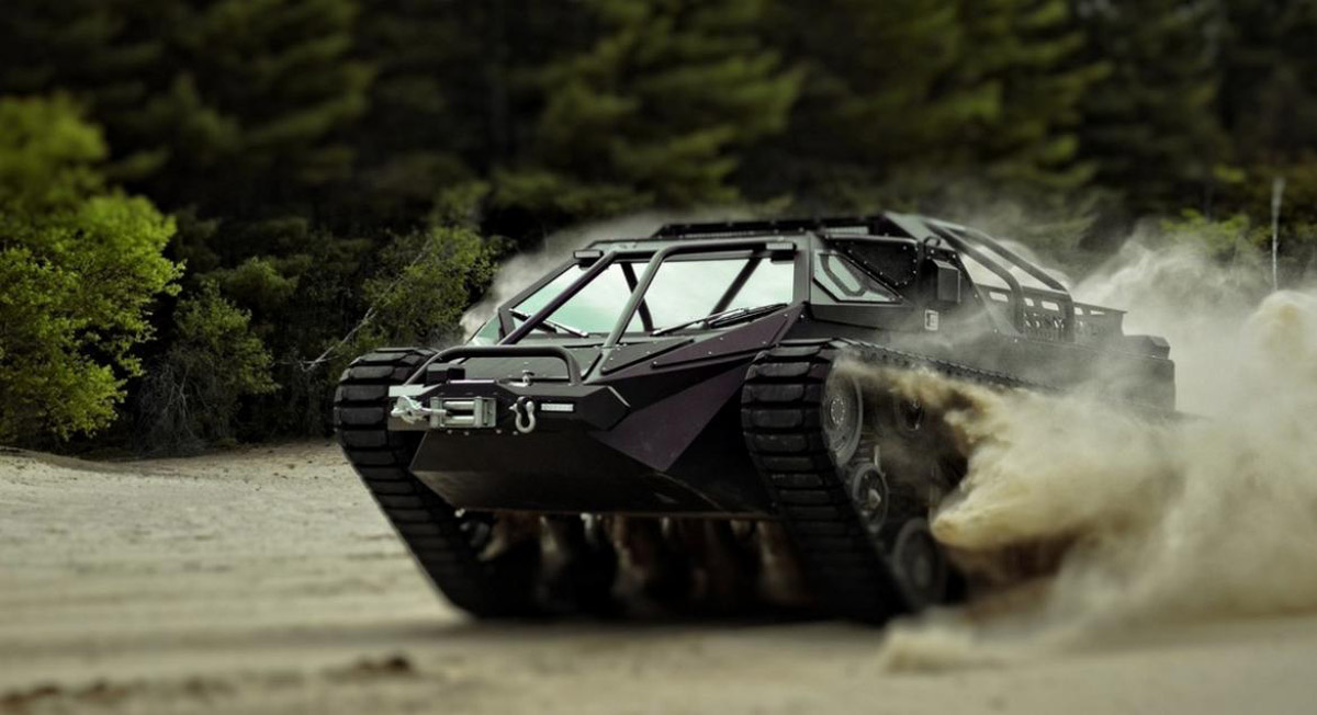 Jay Leno In The World's First Luxury Tank