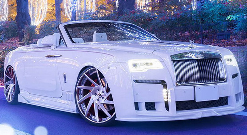 Modified Rolls-Royce Dawn From Japan