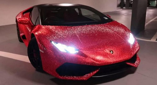 Lamborghini Huracan With 1.3 Million Swarovski Crystals