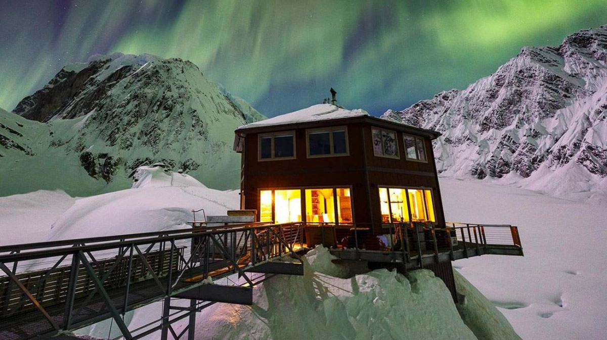 the sheldon chalet - luxury resort in the middle of alaska u2019s glacier