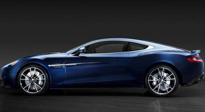 Daniel Craig's Unique Aston Martin Vanquish On Sale