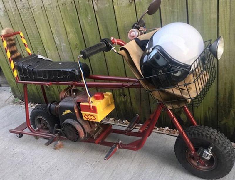 "Original Mini Bike From ""Dumb and Dumber"" On Sale"