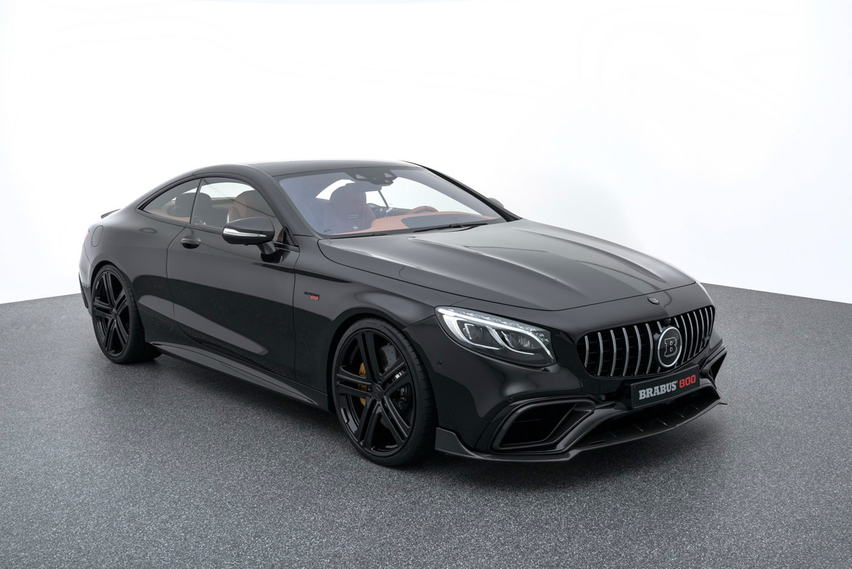 New BRABUS 800 Coupe Based On Mercedes S 63 4MATIC+