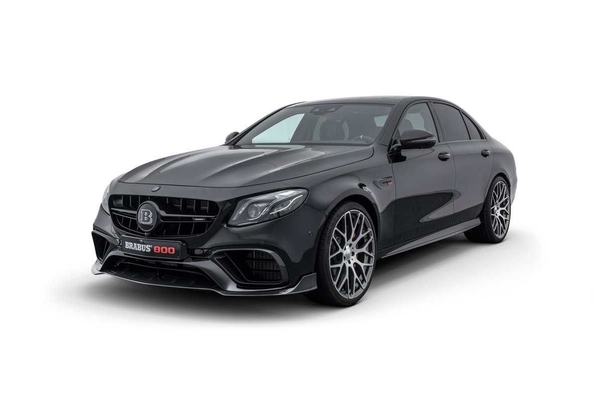 New BRABUS 800 Based On Mercedes E 63 S 4MATIC+