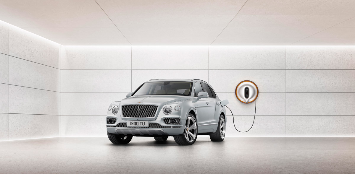 World's First Luxury Hybrid – Bentley Bentayga Hybrid