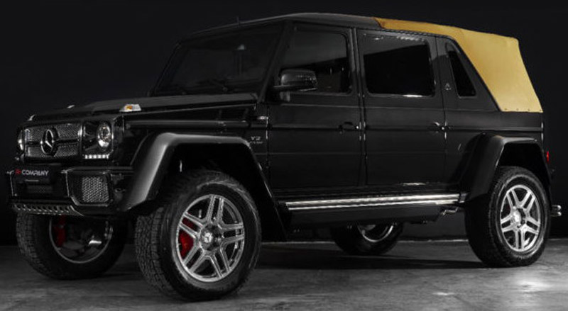 Mercedes Maybach G650 Price >> Mercedes Maybach G650 Landaulet On Sale For 1 45 Million