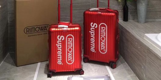 1b8062b6c Rimowa Teamed Up With Supreme For Stylish Luggage Collection ...