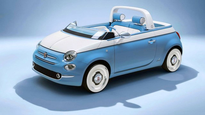 Ideal For Summer And Beach: FIAT 500 Spiaggina