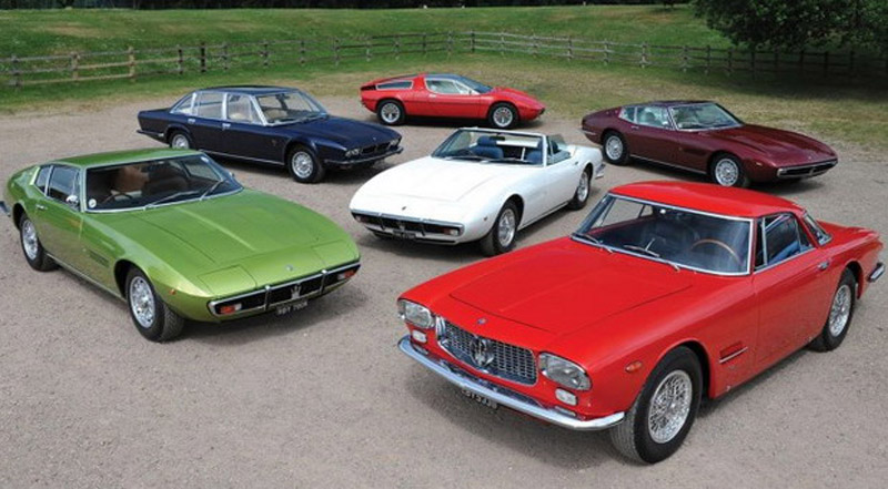 Complete Maserati Collection On Sale